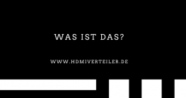 was ist hdmi out